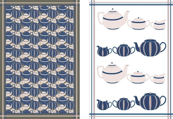 Tea Towels, Alexandra Augustine